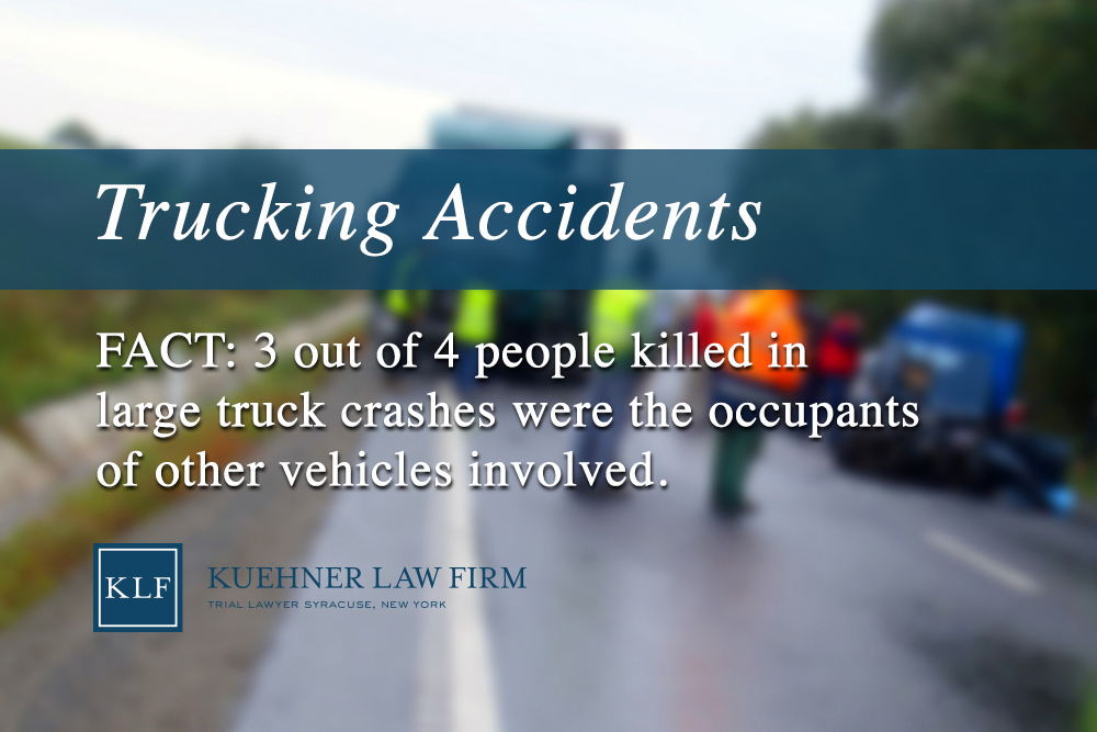 Trucking Accidents - Kuehner Law Firm
