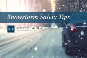 Snow Storm Safety Tips